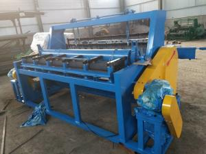 China High Efficiency Full Automatic Crimped Mesh Machine Complete Line Included on sale