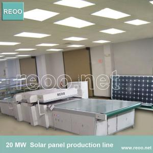 China 2013!!!NEW!40 MW solar panel production line(High productivity,trainning, installation) on sale