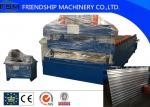 18.5kw Power Container House Shelf Panel Roll Forming Machinery 1250mm Coil Width