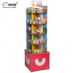 China Inspire Kids Floor Standing Spinner Display Rack POP Toy Store Display Stand on sale
