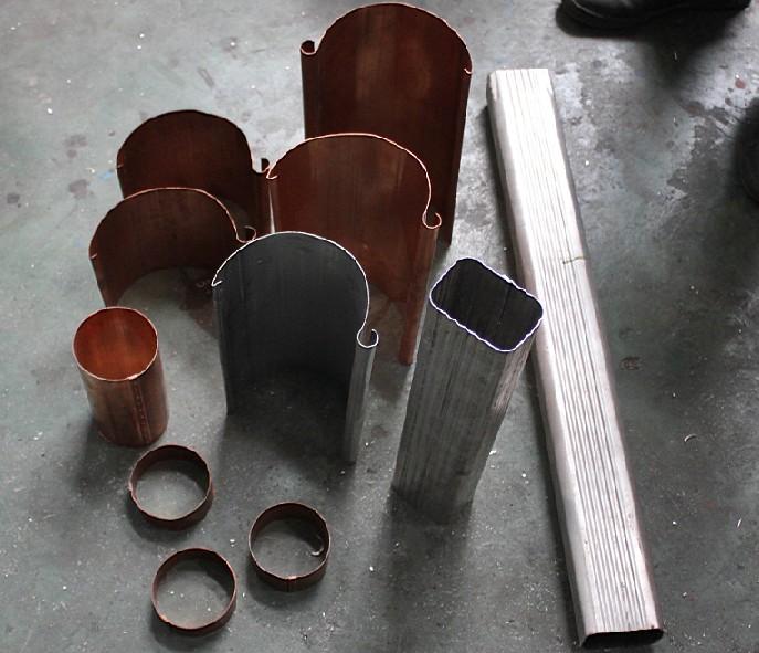 Seamless K Gutter Forming Machine for Rainwater Gutter, K Gutter, Half Round Gutter TW-GM5