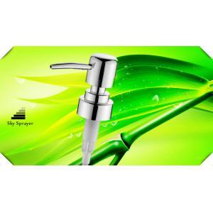China la lotion de distributeurs de savon de salle de bains de 28mm/la pompe en plastique distributeur de savon complète on sale