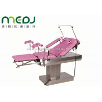 MJSD03-04 Gynecological Examination Table  Electric Pink Obstetric Bed