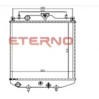 China 17700M60D51 Aluminum Auto Radiator MARUTI ZEN Custom E-256-R on sale