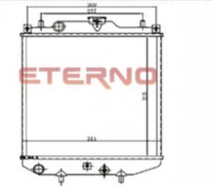 China 17700M60D51 Aluminum Auto Radiator MARUTI ZEN Custom E-256-R on sale