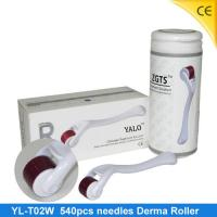 White Microneedle / Micro Derma Roller For Hair Loss Treatment / 540 Derma Roller YL-T02W