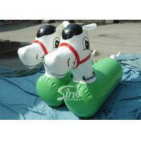 China Lovey Airtight Kids Inflatable Pony Horse Toys For Inflatable derby Race on sale