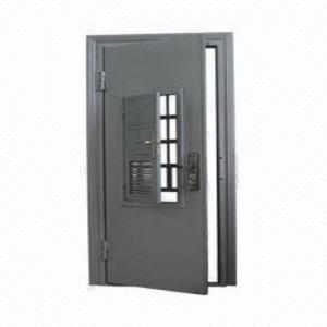 Steel Security Door, 1.5mm Door Leaf Thickness