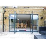 Soundproof Aluminium Casement Door Thermal Break Out Swing Exterior Door