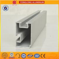 6m Length Aluminium Industrial Profile For Sliding Window With Built - In Blinds