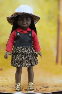China black doll wholesale/american girl doll clothes wholesale/vinyl doll oem on sale