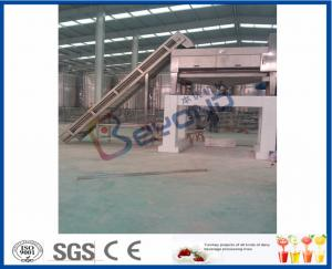 China Date Liquid Syrup Manufacturing Plant , 2 - 50T/H Fruit Juice Production Line on sale