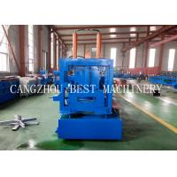 Automatic Change Size CU 800-300 Steel Frame Purlin Roll Forming Machine 18.5kw power