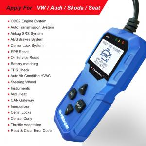 China Autophix V007 Konnwei KW350 Audi OBD2 Scanner SRS Air Bag Diagnostic Tools on sale