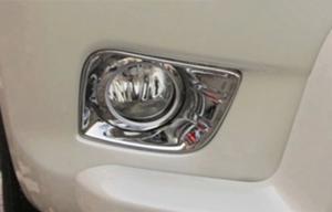 China ABS Chrome Front Fog Lamp Bezel for Toyota FJ150 2010 Prado2700 4000 on sale