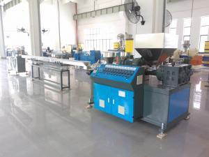 China AF-55MM 3 Colors PP PVC PE Rattan Extrusion Machine , Plastic Rattan Making Machine on sale