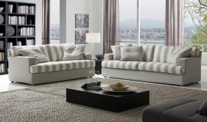 Living room couches modern design 2 seater 3 seater fabric sofa