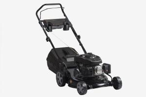 China Hand Push Smart Gasoline Garden Lawnmower With Steel Deck 19 Inch on sale