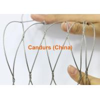 Stainless Steel Knotted Rope Mesh-Flexible Hand Woven Rope Mesh