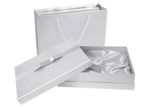 China Embossing Luxury White Gift Boxes, Lids Printed Hard Cardboard Gift Boxes on sale