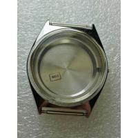 Quality steel watch case for swiss watches sapphire crystal oem prodution