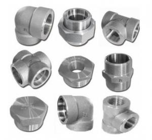 China 6000lb 2'' Socket Weld Fittings Elbow / Tee / Cross / Union / Plug on sale