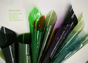 China Colorful Solar Construction Window Film , Residential Window Tint Film For Privacy on sale