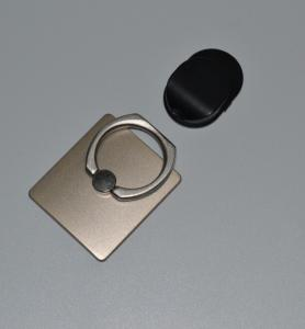 China Colorful 360 Degree Metal Rotating Cell Phone ring Holder , mobile phone ring stand on sale