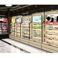 18mm Thickness Retail Shop Cosmetic Display Shelves Wall Storage Design