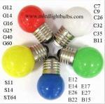 Colorez la lampe décorative d'ampoule de LED