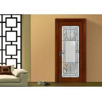 China Decorative Patina Classical Art Glass Panels Thermal Sound Insulation on sale