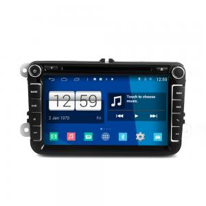 China 8 2DIN android car dvd android 4.4.4 HD 1024*600 for VolksWagen VW 8 original OSD style w/WiFi 4 Core CPU, Mirror link on sale