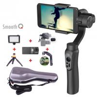 Smooth Q smartphone Handheld 3 Axis gimbal stabilizer action camera selfie phone steadicam for iphone Sumsung Gopro