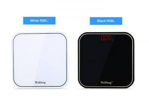 China White / Black Accurate Weight Scale , 180kg Maximum Load Digital Bathroom Scale on sale