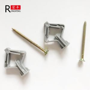 China Anti Aging Plastic Wall Anchors Butterfly Rawl Plugs For Concrete Walls on sale