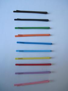 China colorful hair clip,bobby pin kids hair accessories on sale