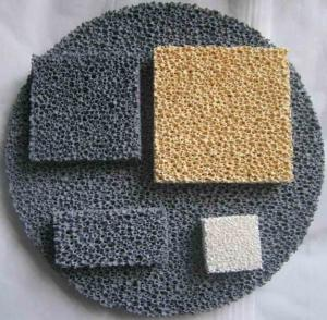Quality Reduce Production Cost Ceramic Foam Filter Improve Casting Mechanical Properties for sale
