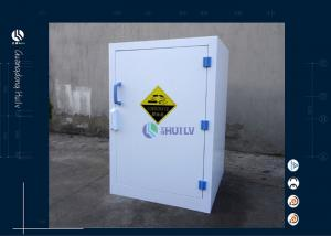 China 12 Gallon 45 L Acid Storage Cabinet Corrosive Chemical For Laboratory Imported PP Materials on sale