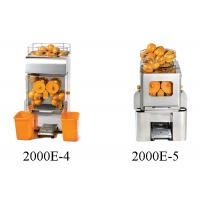 Commercial Food Preparation Equipments Automatic Orange Juice Squeezer Machine