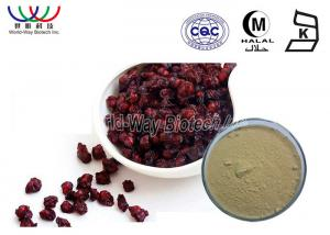 China High Standard Pure Natural Plant Extracts , Brown Organic Schizandra Extract Powder on sale