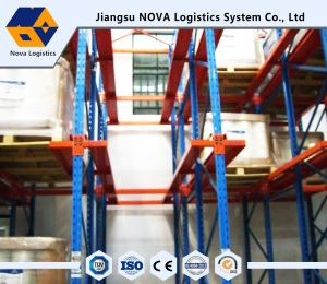 China Corrosion Protection Drive In Pallet Racking Heavy Duty For Warehouse Storage on sale