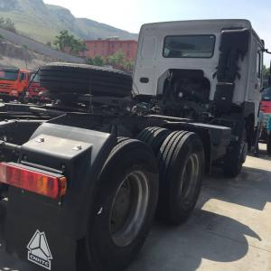 China LHD New HOWO7 6*4 10tires 336HP Heavy Duty Tractor Truck With German Steering Gear Box with one Sleeper on sale