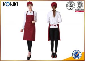 China Portable Custom Cooking Aprons , Waitress Personalized Chef Aprons on sale