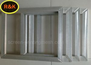 China 18-420 Mesh / Inch Silk Screen Aluminum Frame For Glass Printing Alkali Resistance on sale