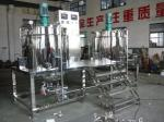 1000L Steam Heating Shampoo Mixer machine  With Stainlesss Steel Group Blending Tanks