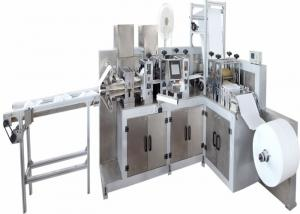 China Ultrasound Shoe Cover Making Machine 5.5KW 60-100 PCS/MIN Automatic 5500W Output on sale