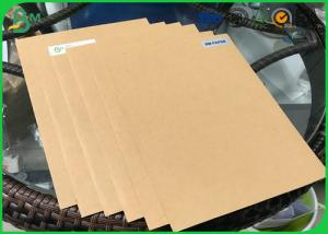 China Grade AA 200g 250g 300g 350g 400g  Solid Board Kraft Paper With FSC Certification on sale
