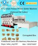 China Big Diameter Roller Flexo Printing Slotting Machine / Carton Box Printing Machine wholesale