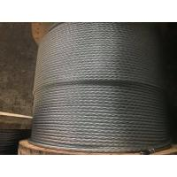 "7x2.03mm(1/4"") Galvanized steel wire strand for guy wire as per ASTM A 475 Class A EHS"
