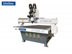 China Unitec 1325 Oscillating Sign Making CNC Router For acrylic Cardboard on sale